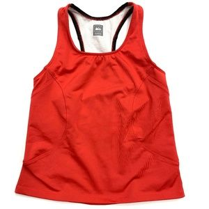 REI Red and Black Racerback Tank